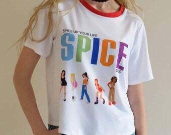 Spice Girls Tee / For men & women