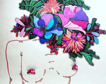 Eye Love Flowers 18x24