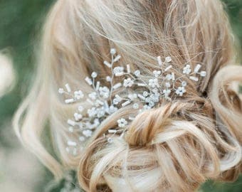 Jewelry hairpin in hairstyle wedding evening hairpin for bride hairpin two pieces