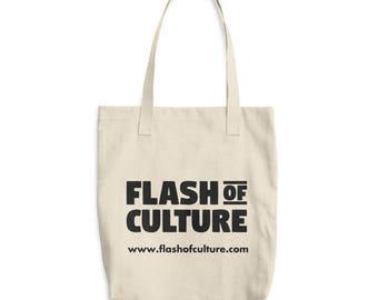 Flash of Culture Cotton Tote Bag
