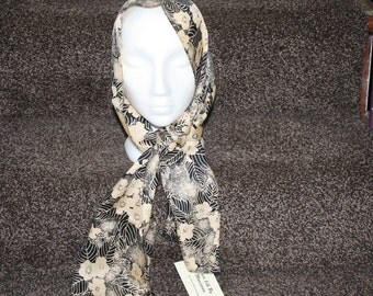 Pure silk hand made scarf
