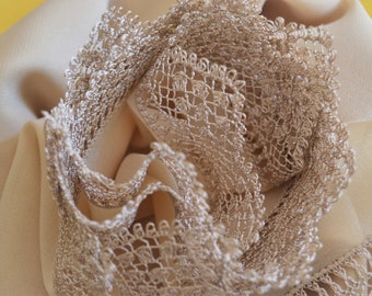 cotton,wrap,veil,diamond pattern,latin,hand knitted,crochet scarf,weft,floral,natural coloring,necklace,gift for her,moms gift,mens gift