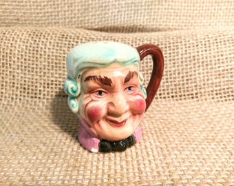 Vintage Toby Style Head Shaker of British Colonial Dandy