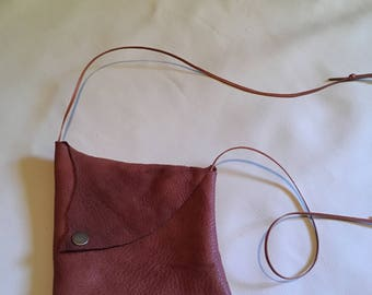 Small Leather Purse/Minimalist Pouch