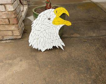 Free Form Eagle Tile Mosaic