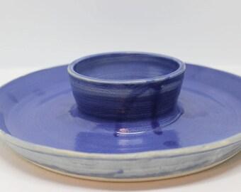Blue Chip and Dip Platter