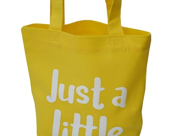 Small Cotton gift bags. Various slogans/colours.