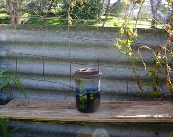 Re-usable Wheel Thrown Handmade Coffee Cup