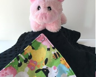 Ultra Plush and Cuddly Pig Lovey