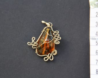 Original Mexican amber necklace