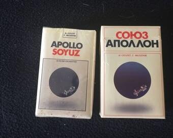 Commememorative Apollo Soyuz cigarettes