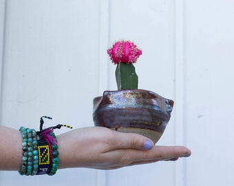 Brown Ceramic Bowl