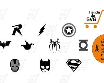 super heroes svg, superheroes svg, super heroes, svg, svg file,  vector files cut, silhouette, vector, svg file, spiderman svg, batman svg