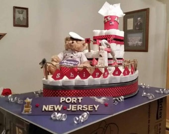 Personalize Diaper Cakes for Him or Her