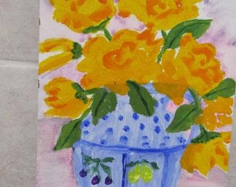 Still Life Vase of Flowers 3