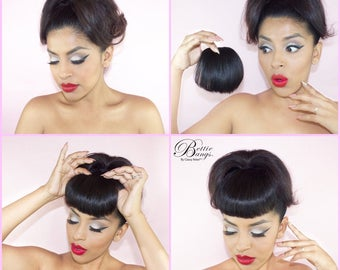 Clip-in Bettie Bangs™