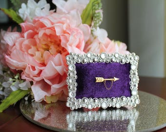 Jeweled Pin Frame