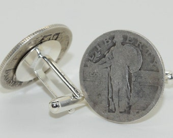Standing Liberty Coin Cufflinks