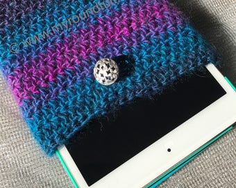 Small Tablet Crochet Cover