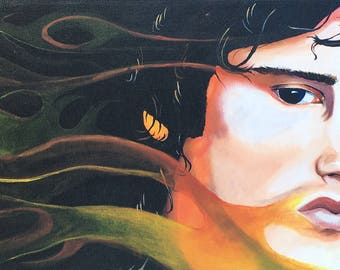 """Acrylic on stretched canvas-"""" Jim """""""
