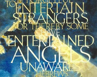Entertain Angels Unaware Hebrews 13:2