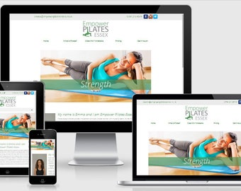 Responsive Website Design - Bespoke Design - Custom Made