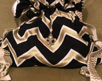 New Orleans, Medicine bag, pouches, drawstring bag, Alter bag, Ritual Bag