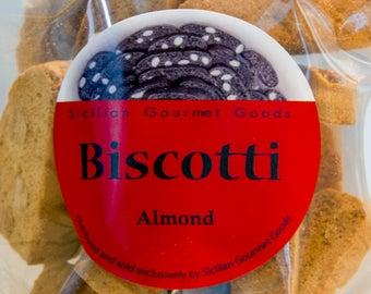 Sicilian Almond Biscotti