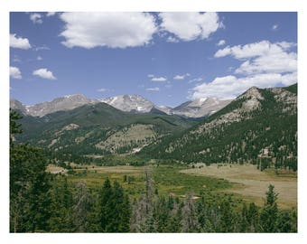 Rocky Mountain National Park Pt 2 Art Print