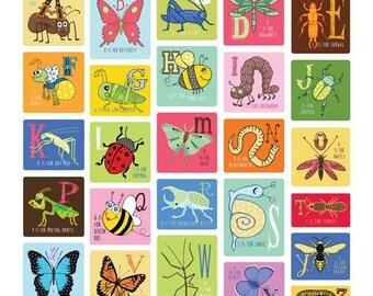 Bug Alphabet PRINT