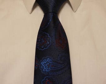 Two-Toned Wide Tie
