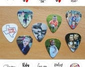 Custom Guitar Pick - FREE SHIPPING Option (U.S. Only) - Personalized with Photos, Text, and Quotes