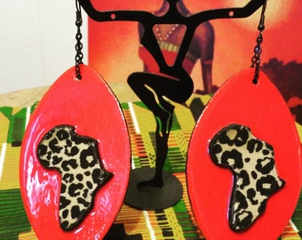 Funky and Bold Statement Earrings