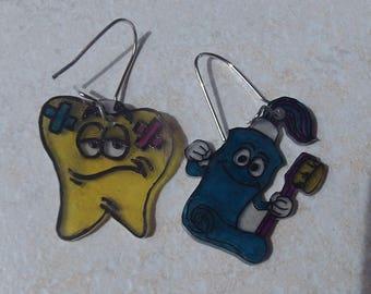 dental hygiene earrings