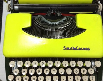 Smith Corona Skyriter - Working Vintage Typewriter