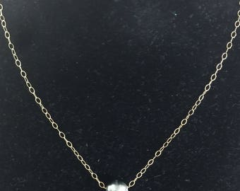 10-15mm Tahitian floating pearl necklace