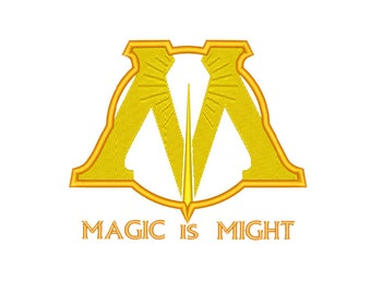 Ministry of Magic Embroidery designs - Machine embroidery design