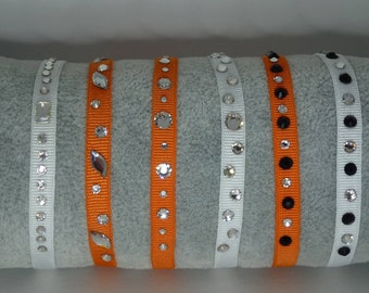 Bracelet elastic swarovski rhinestones