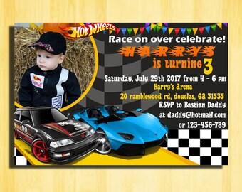 Hot Wheels Invitation, Hot Wheels Birthday Invitations, Hot Wheels Birthday Party,Hot Wheels Party Invitation,Hot Wheels Birthday,Hot Wheels