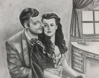 Gone With the Wind Drawing II