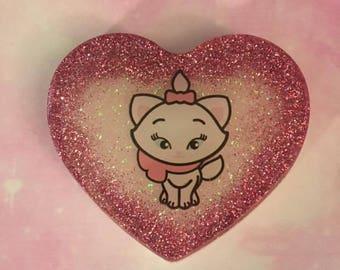 Marie Heart Charm