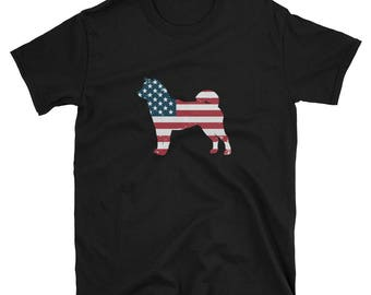 Shiba Inu Shirt USA Shiba Inu Gift T-Shirt