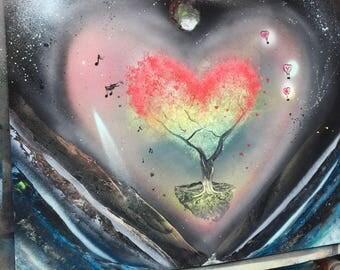 Spacey Love Tree