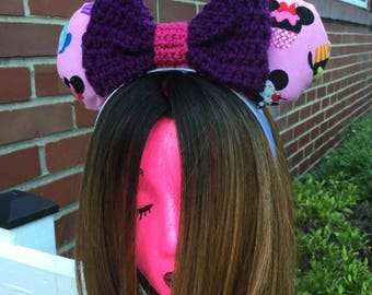 Crochet and Cupcake Mouse Ears