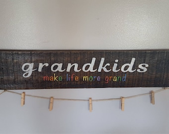 Grandkids Make Life Move Grand