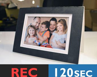 Musical Photo Insert Card   Photo Frame With Music, DIY Talking Photo Frame   120 Seconds
