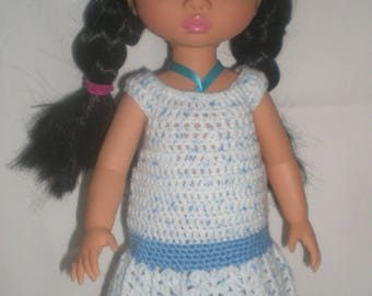 low waist dress set for disney animators crochet