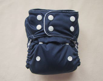 Cloth Diaper Cover, Navy and White, Pocket diapers, Cloth diaper pattern, Boy diaper,Gender neutral diaper,Cloth diapers, Cloth Nappy,Diaper