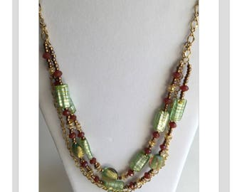 Beach Girls Beads-Multi-Strand Necklace