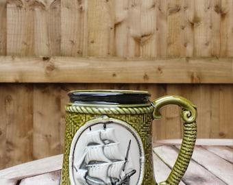 Green Whaling / Tall Ship Mug